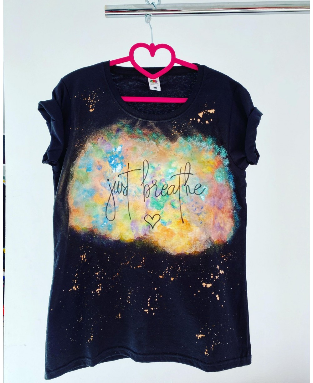Tricou Just Breathe